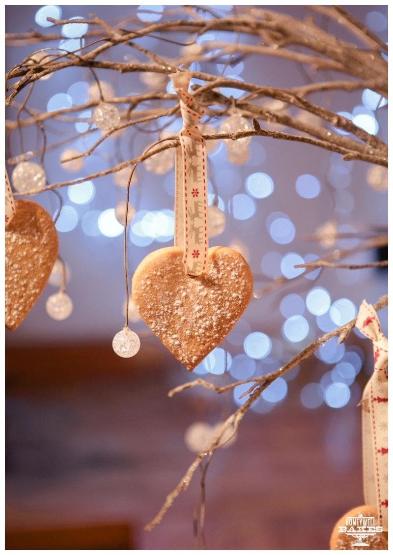 vanilla biscuit christmas decorations