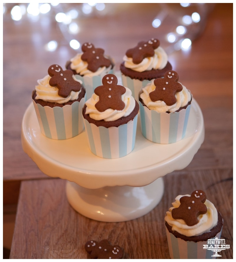 gingerbread man cupcake recipe