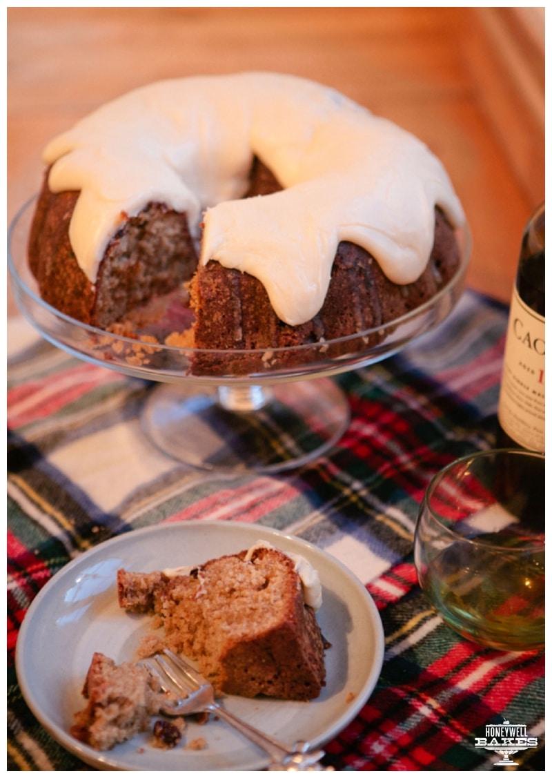 Scotch Wiskey Cake
