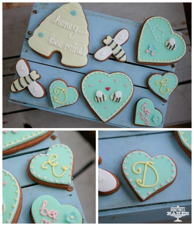monogram biscuit gifts