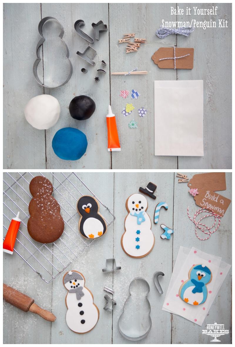 Snowman & Penguin Kit